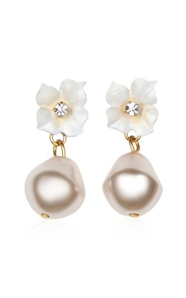 Solddad Pearl Drop Earrings