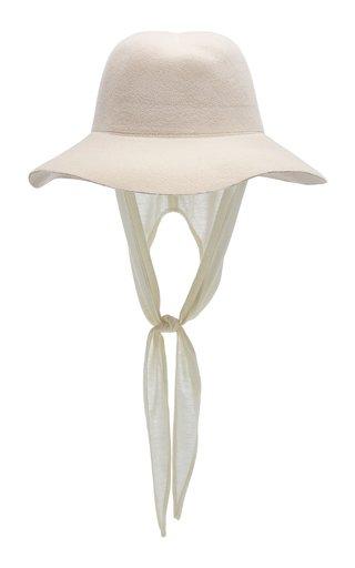 Aura Neckshade-Detailed Angolra Hat