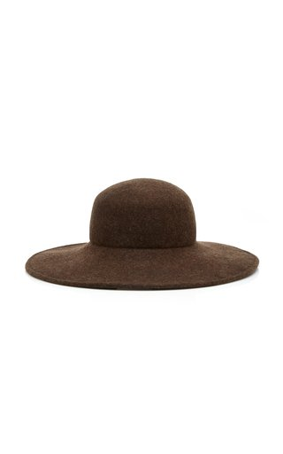 Pearl Wool Felt Hat