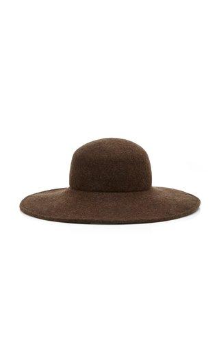 Pearl Wool Felt Hat