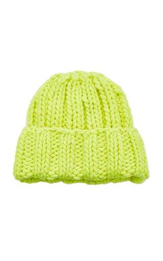 Folded Knit Wool Hat