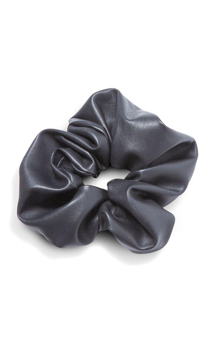 Vegan Leather Scrunchie