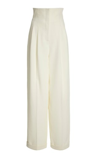 Colleen High-Rise Georgette Pants