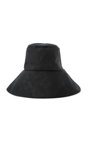 Chaplin Waterproof Waxed Cotton Bucket Hat
