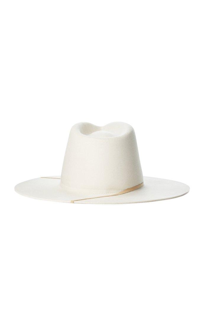 Miller Wool Wide-Brim Hat
