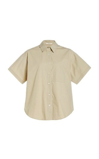 Drop Shoulder Short Sleeve Shirt