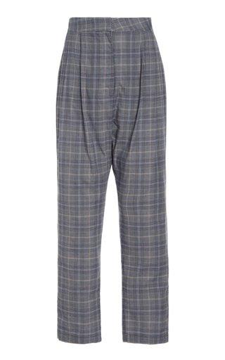 Cotton Pleat Pant