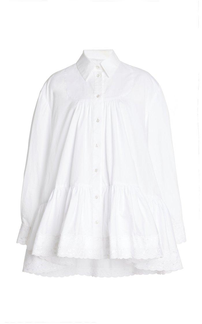 Short Gathered Shirt