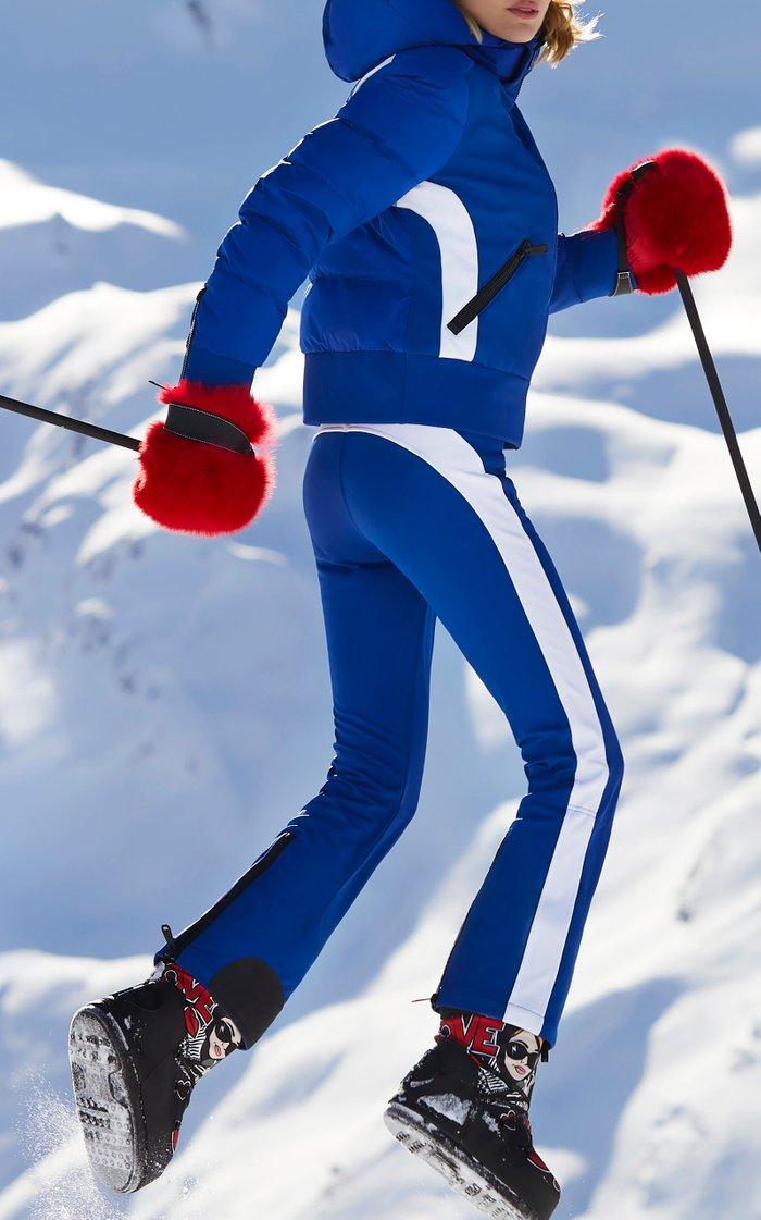 Runner Striped Shell Ski Pants