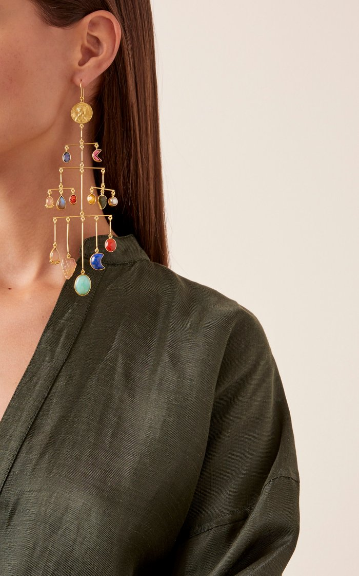 Mobile Multilayer Balance Earrings