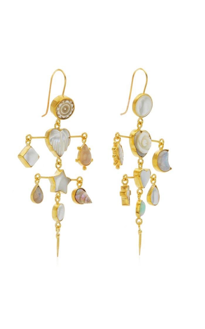 Victorian Moonstone Earrings