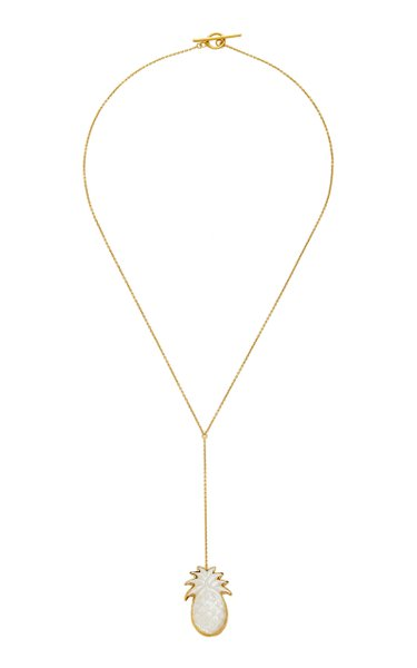 Pineapple Lariat Necklace