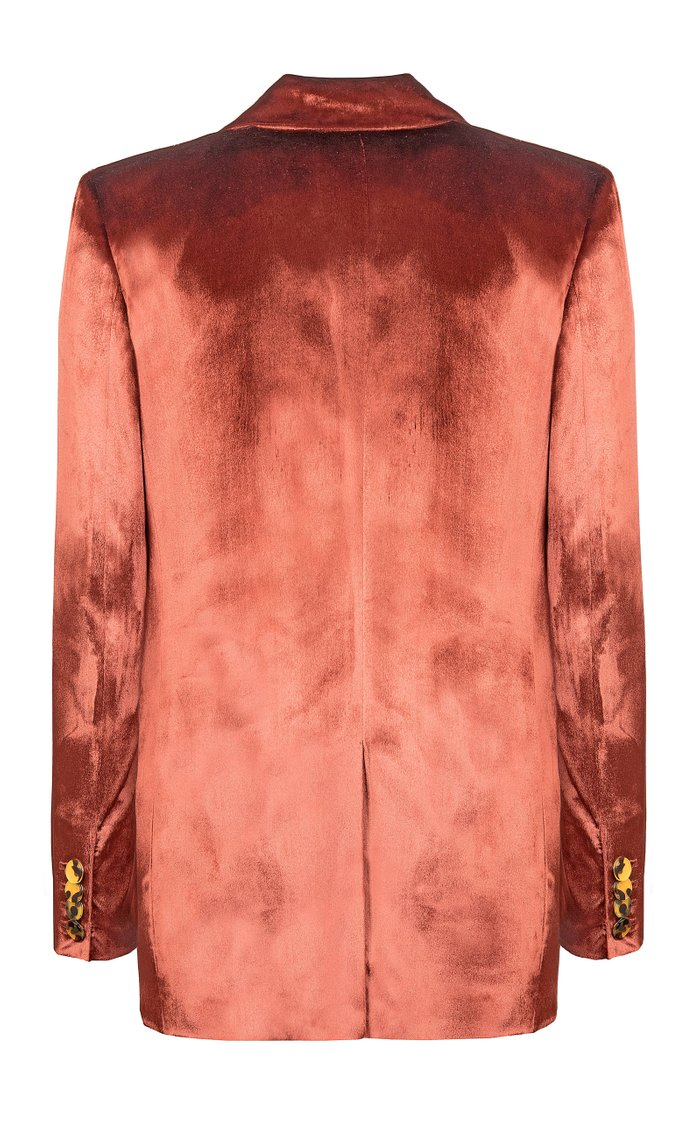 Té Salt Everyday Woven-Silk Blazer