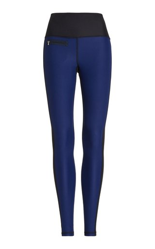 Peri Sueded Eco-Colorblock Leggings
