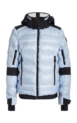 Tami Padded Nylon Hooded Ski Jacket