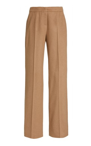 Pescia High-Rise Wool Straight-Leg Trousers