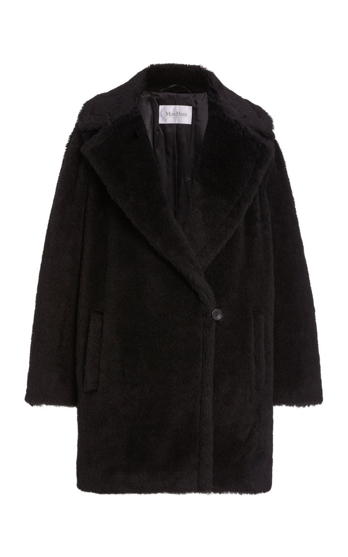 Fiocco Short Alpaca and Wool-Blend Coat