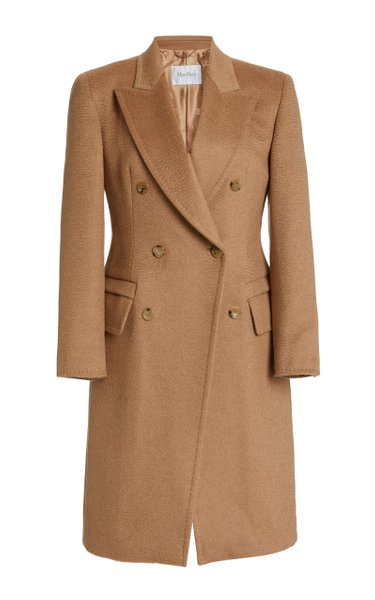 Patrick Double-Breasted Wool Coat