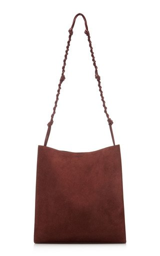 Grande Tangle Suede Tote