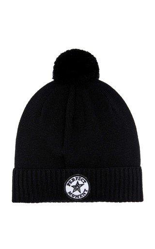 Patch II Wool-Blend Beanie