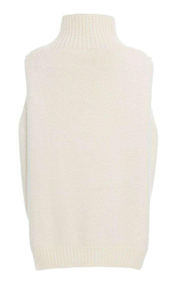 Knit Cashmere Vest