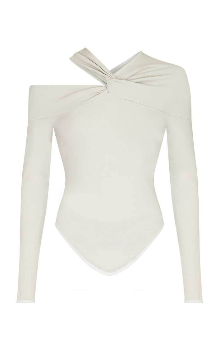 Baylee Cutout Stretch-Jersey Bodysuit