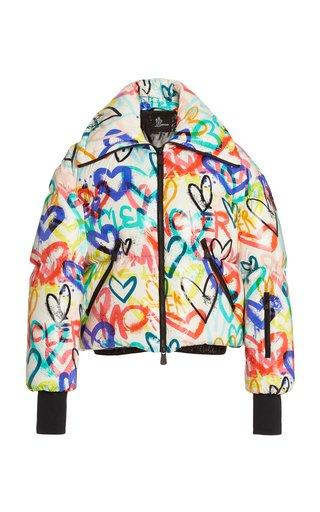 3 Moncler Grenoble Heart-Print Puffer Jacket