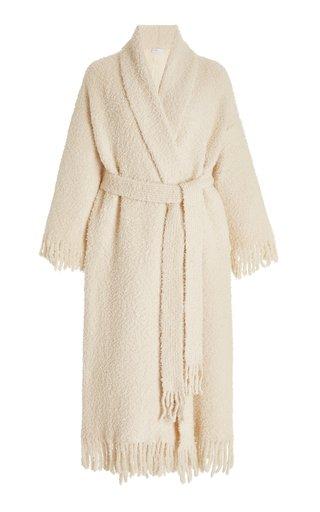 Blanket Belted Cashmere-Blend Cardigan