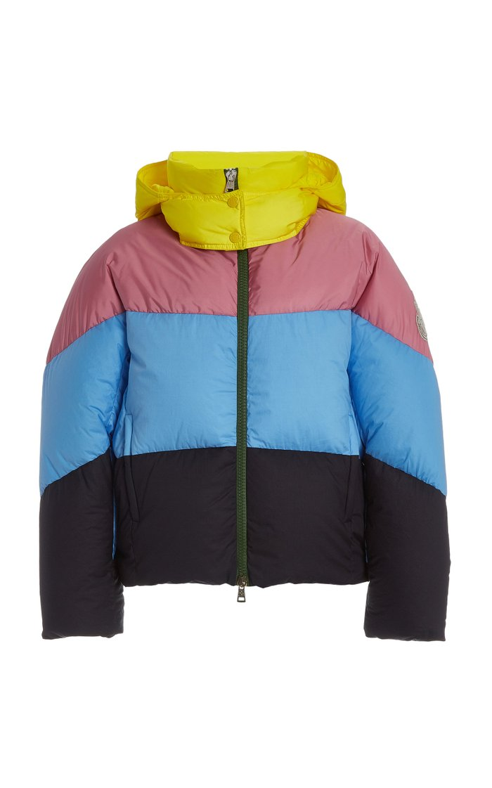 1 Moncler JW Anderson Bickly Colorblock Puffer Jacket