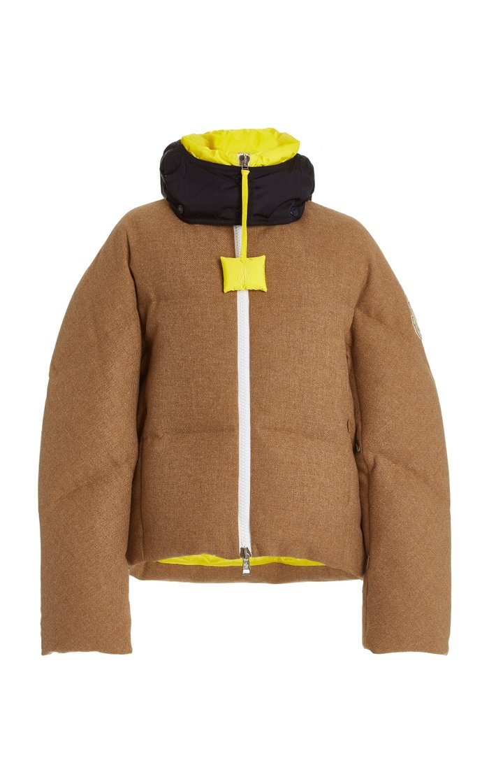1 Moncler JW Anderson Stonory Wool Puffer Jacket