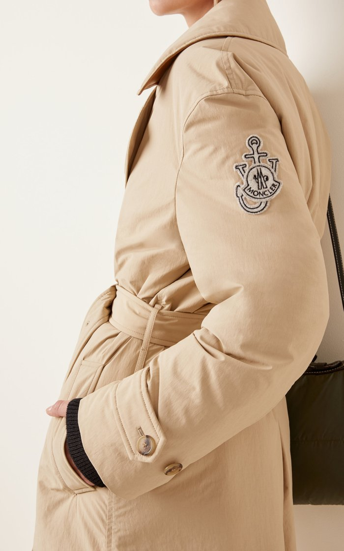 1 Moncler JW Anderson Montacute Down Trench Coat