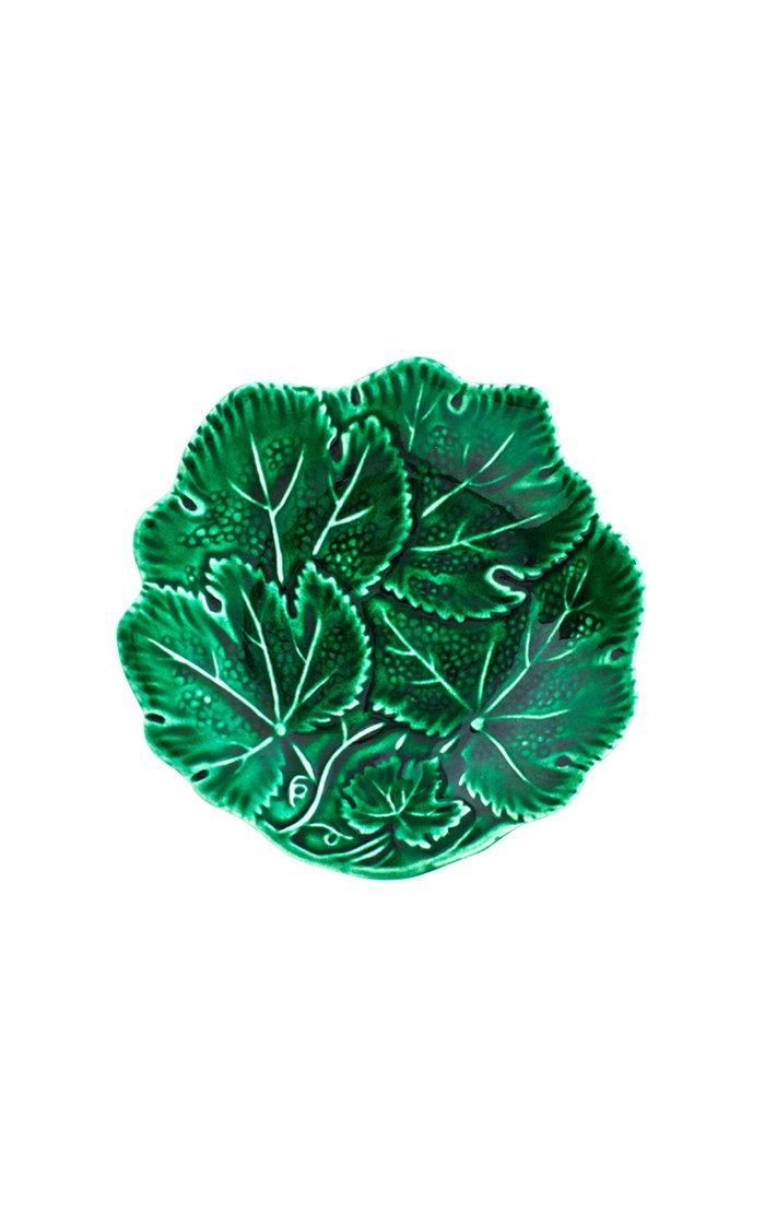 Vine Leaf Bread Plate