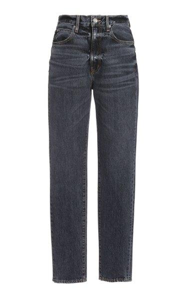 Beatnik High-Rise Slim-Leg Jeans