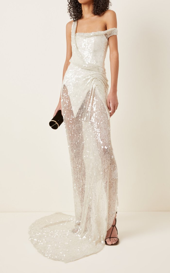 Loverlorn Embellished Tulle Gown