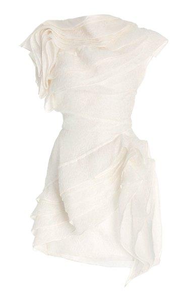 Forevermore Cloqué Mini Dress