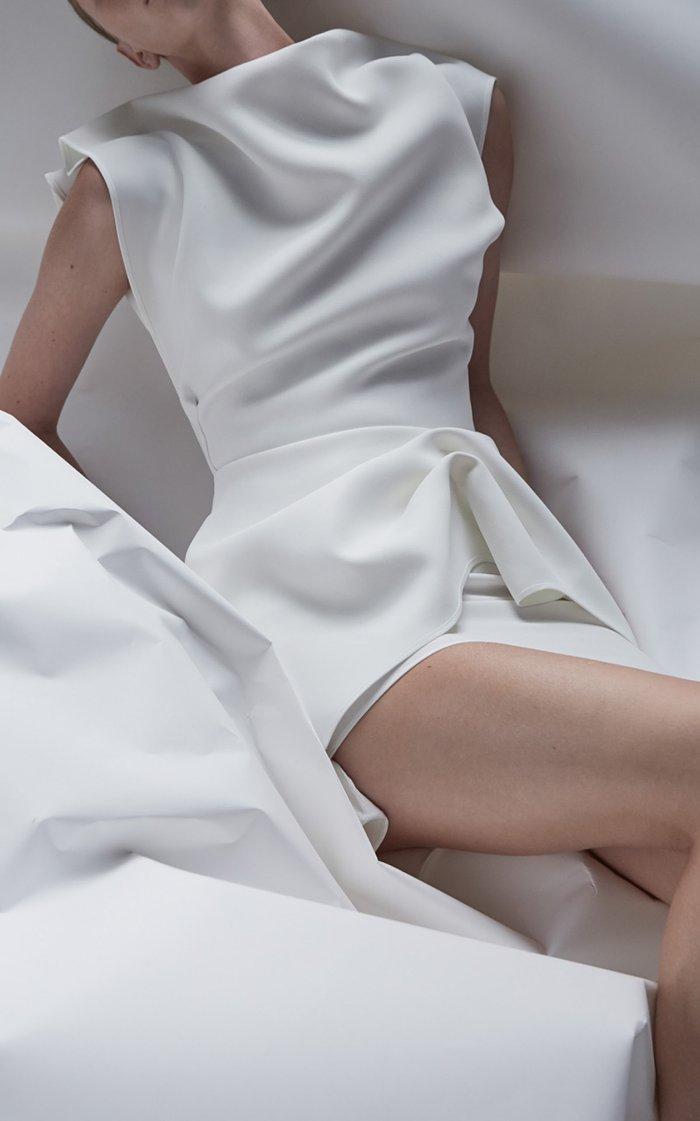 Intuition Crepe De Chine Dress