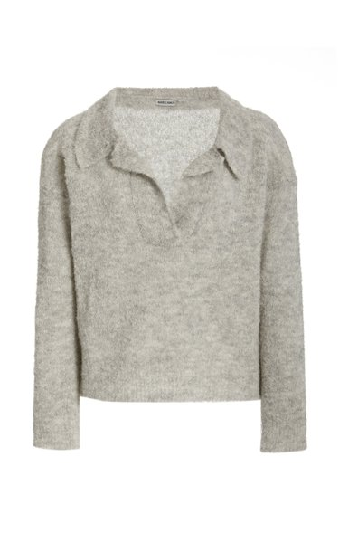 Rosario Knitted Alpaca-Blend Top