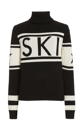 Schild Intarsia Knit Sweater