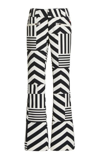 Star Dazzle Printed Flared Ski Pants