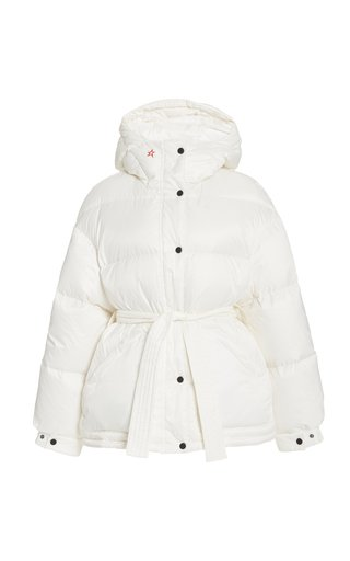 Oversized Belted Puffed Parka