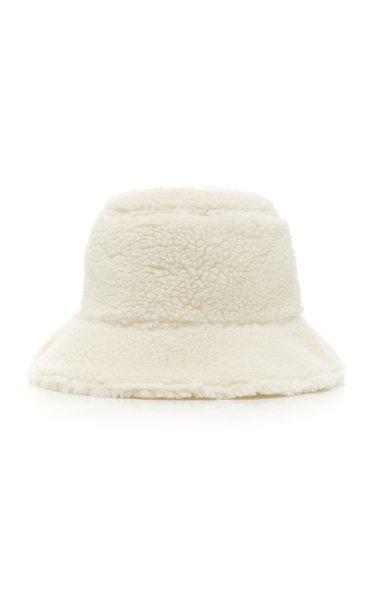 Billie Reversible Faux Shearling Bucket Hat
