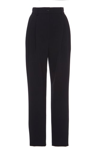 High-Rise Gabardine Pants