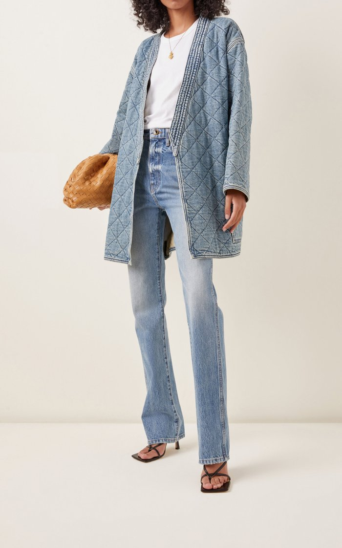 Quilted Denim Jacket