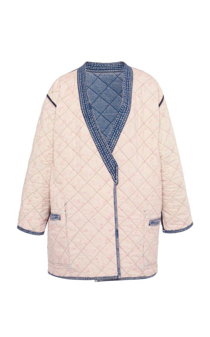 Quilted Denim Jacket