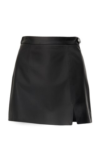 Soft Leather Mini Skirt