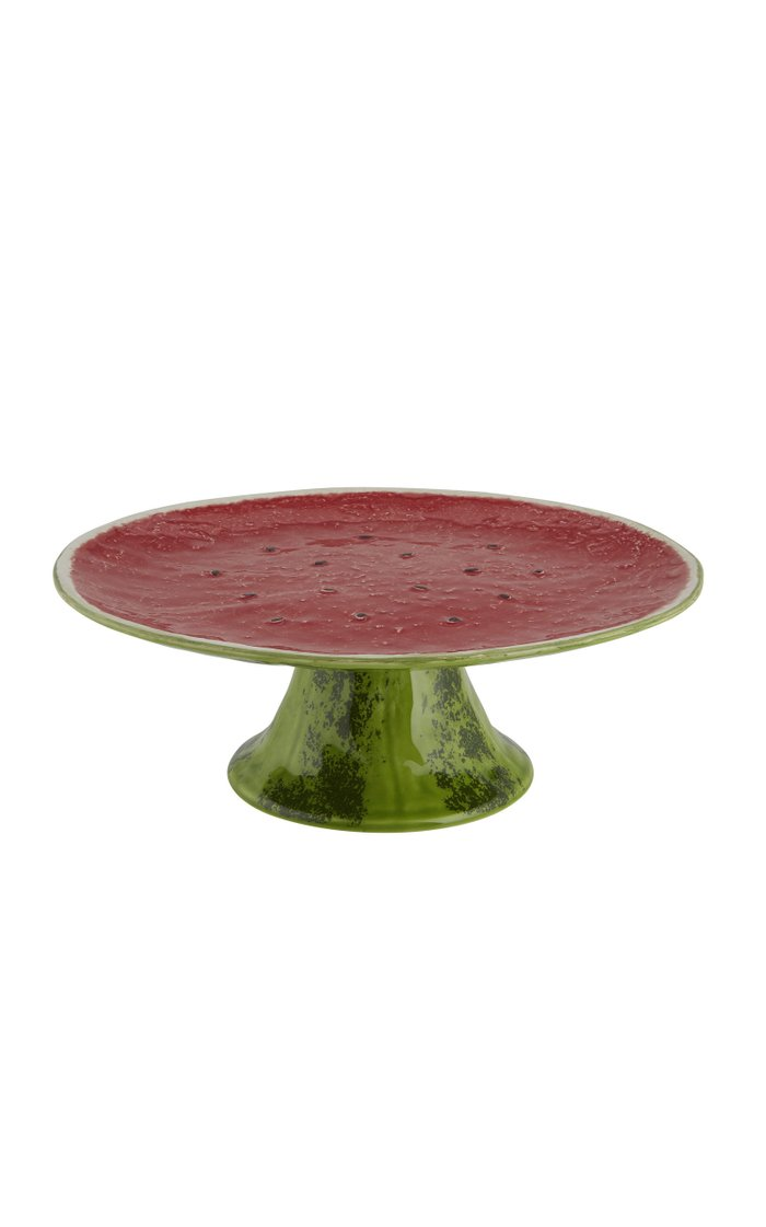 Watermelon Earthenware Cake Stand