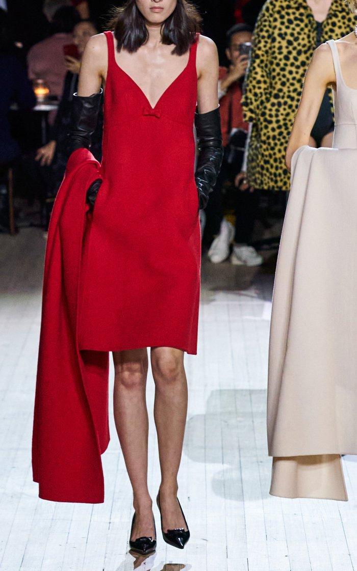 Shetland Wool Slip Dress