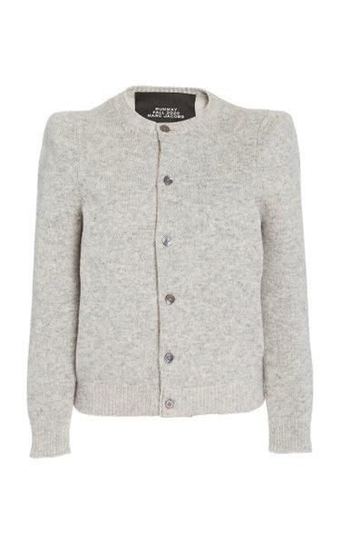 Wool-Blend Cardigan Sweater