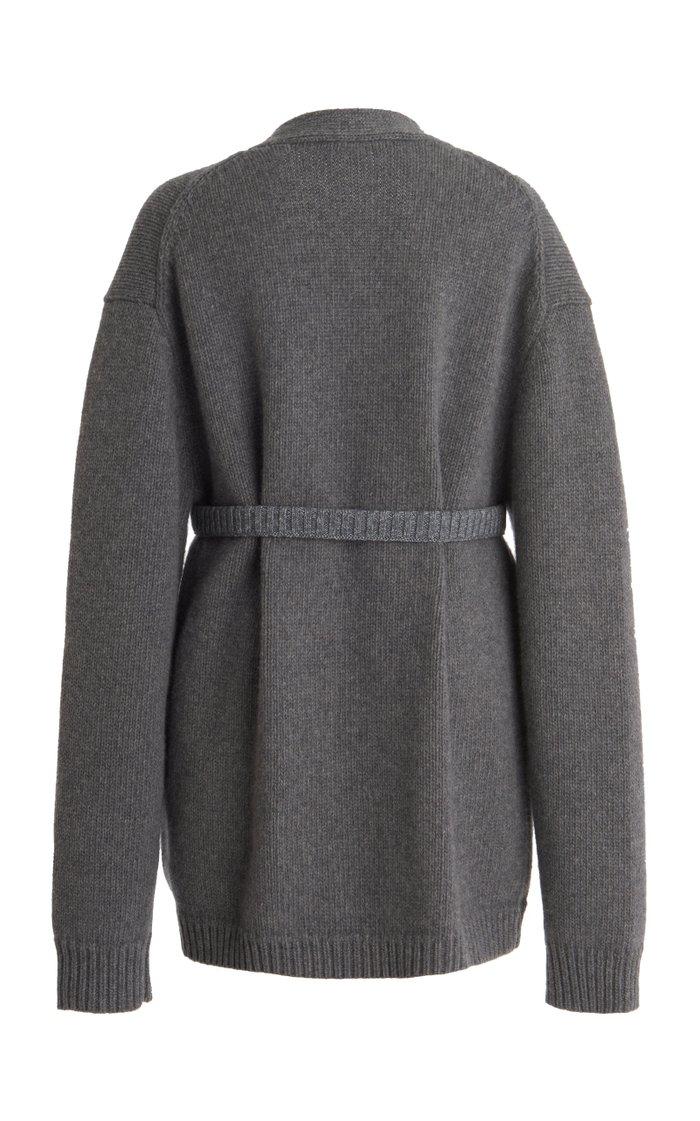 Chunky Wool Knit Cardigan