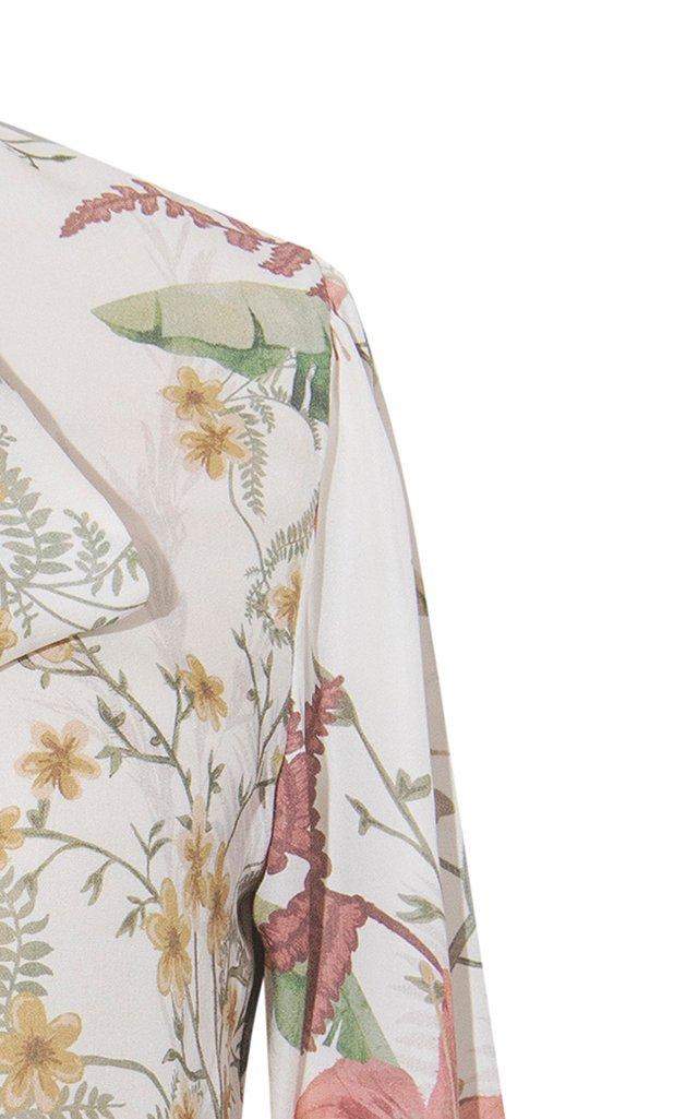 Quijote Printed Silk Top